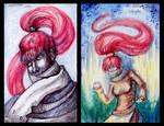ACEO Redhead by Aisha-Autumn