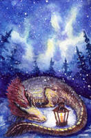 ACEO Magic lantern by Aisha-Autumn