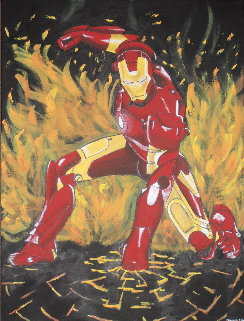 I Am Iron Man by StarkindlerArt