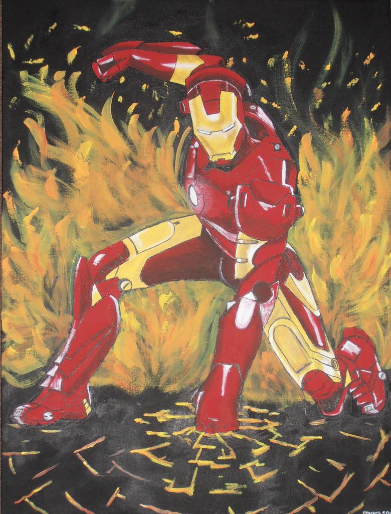I Am Iron Man by StarkindlerArt