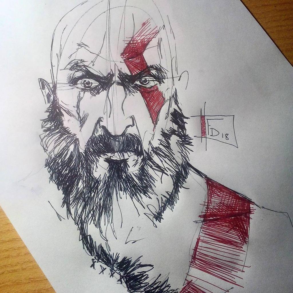 Kratos God Of War 4 By Thesniper92 On Deviantart