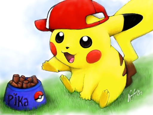 Pikachu - level 1 by Reneks on deviantART