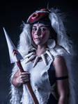San from Princess Mononoke Cosplay