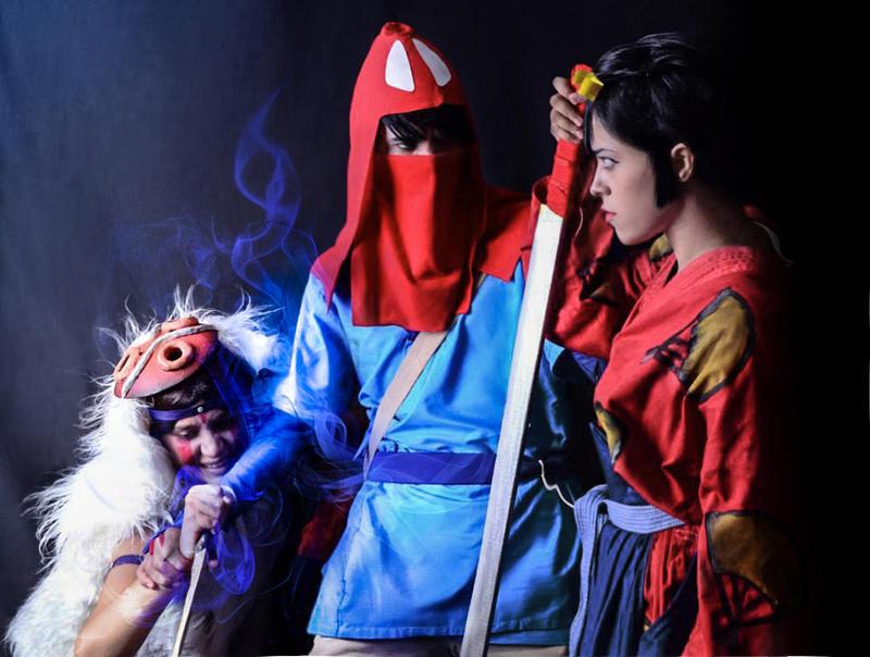 Princess Mononoke Team - San, Ashitaka, Eboshi by Reneks ...