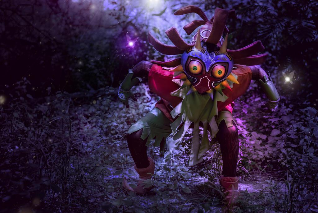 Skull Kid Wallpaper: The Legend Of Zelda: Majora's Mask By Reneks On