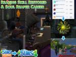 Sims4 Reaping Skill + Soul Reaper Career