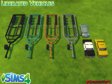 Sims4 Liberated Vehicles
