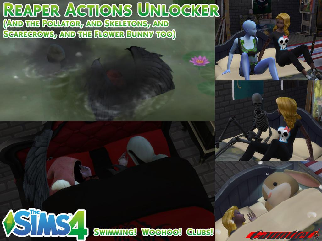 Sims4 Reaper Actions Unlocker By Gauntlet101010 On Deviantart