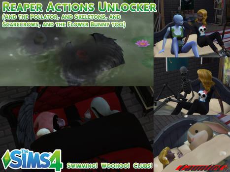 Sims4 Reaper Actions Unlocker