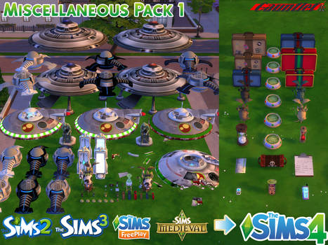 Sims4 Miscellaneous Pack 1