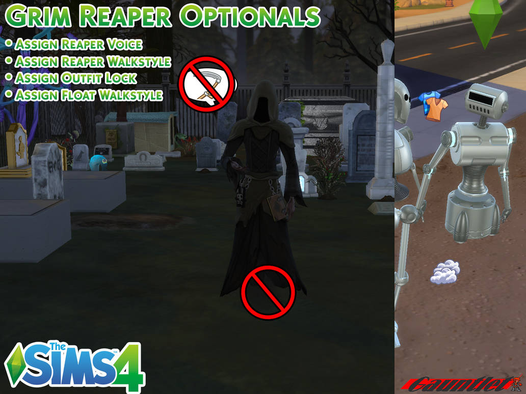 Woohoo grim sims 4 cheat reaper Question: How