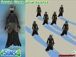 Sims4 Scuba Gear Grim Reaper