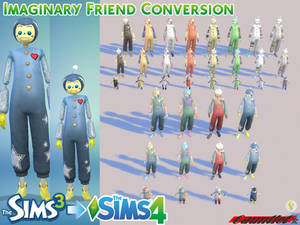 Sims3 to Sims4 Imaginary Friend Conversion