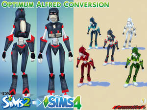 Sims2 to Sims4 Optimum Alfred Conversion