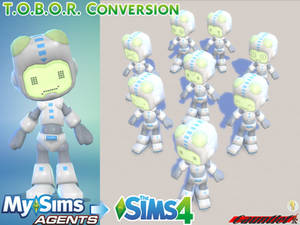 MySims Agents to Sims4 T.O.B.O.R. Conversion
