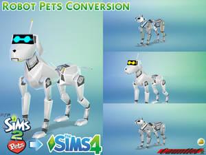 Sims2 Pets to Sims4 Robot Pets Conversion