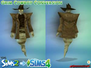 Sims2 to Sims4 Grim Cowboy Conversion