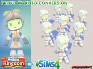 MySims Kingdom to Sims4 Proto-Makoto Conversion