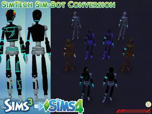 Sims3 to Sims4 SimTech Sim-Bot Conversion