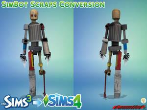 Sims3 to Sims4 SimBot Scraps Conversion