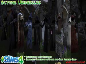 Sims4 Scythe Umbrellas