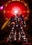 Toy Unicron and Galvatron