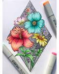 Flower Zentangle