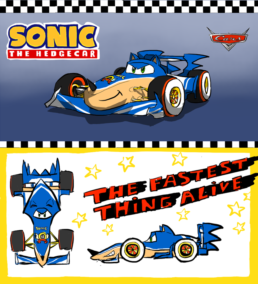 Sonic the Car by SparklinMii on DeviantArt