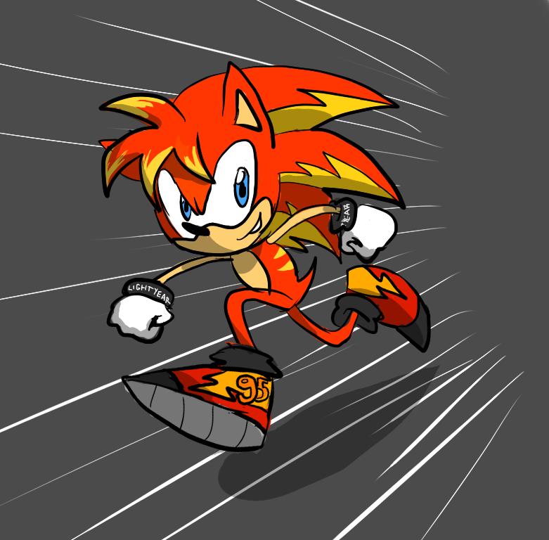 Lightning Mchedgehog By Sparklinmii On Deviantart