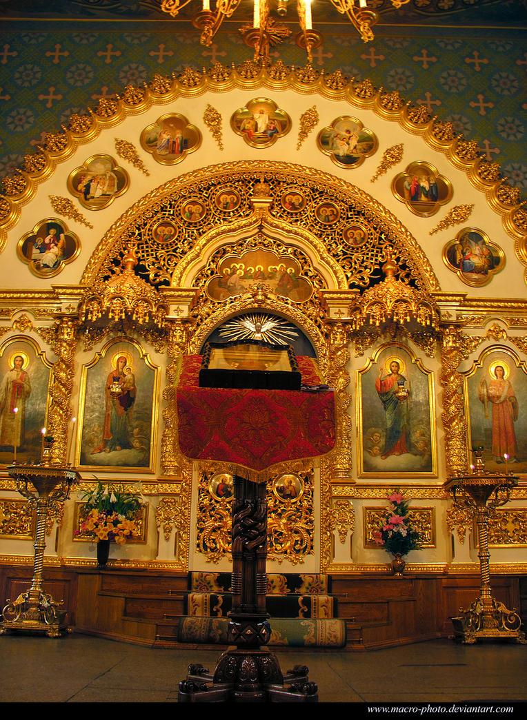 Altar by macro-photo