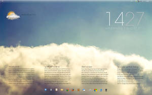 Simple Clouds Desktop v2 by Sourg