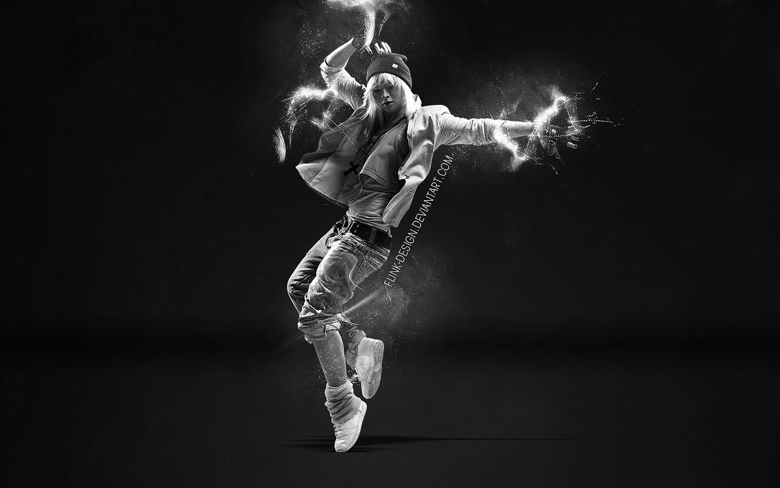 dance girl wallpaperflink-design on deviantart