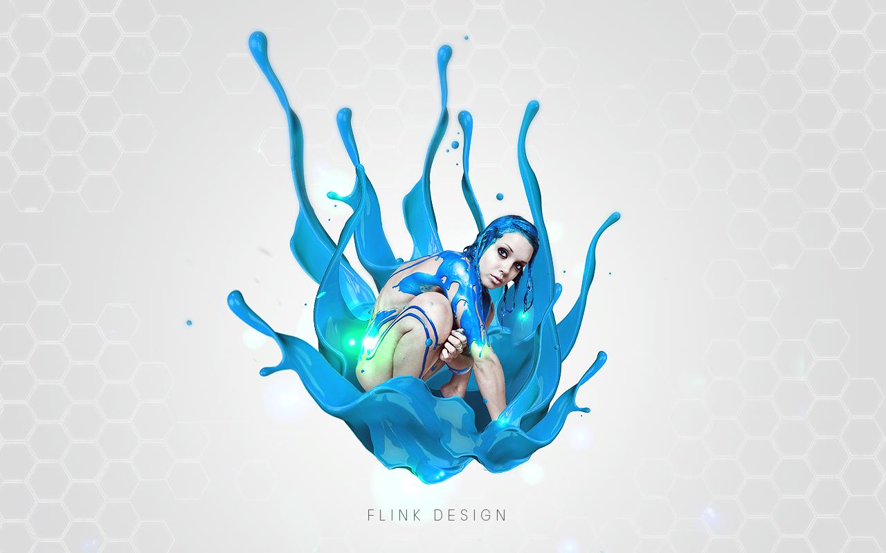 Water Design Wallpaper : Water tech wallpaper by flink design on deviantart