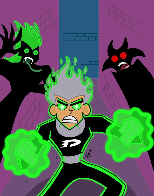 Danny Phantom  |Danny Phantom Ghost Power Rankings