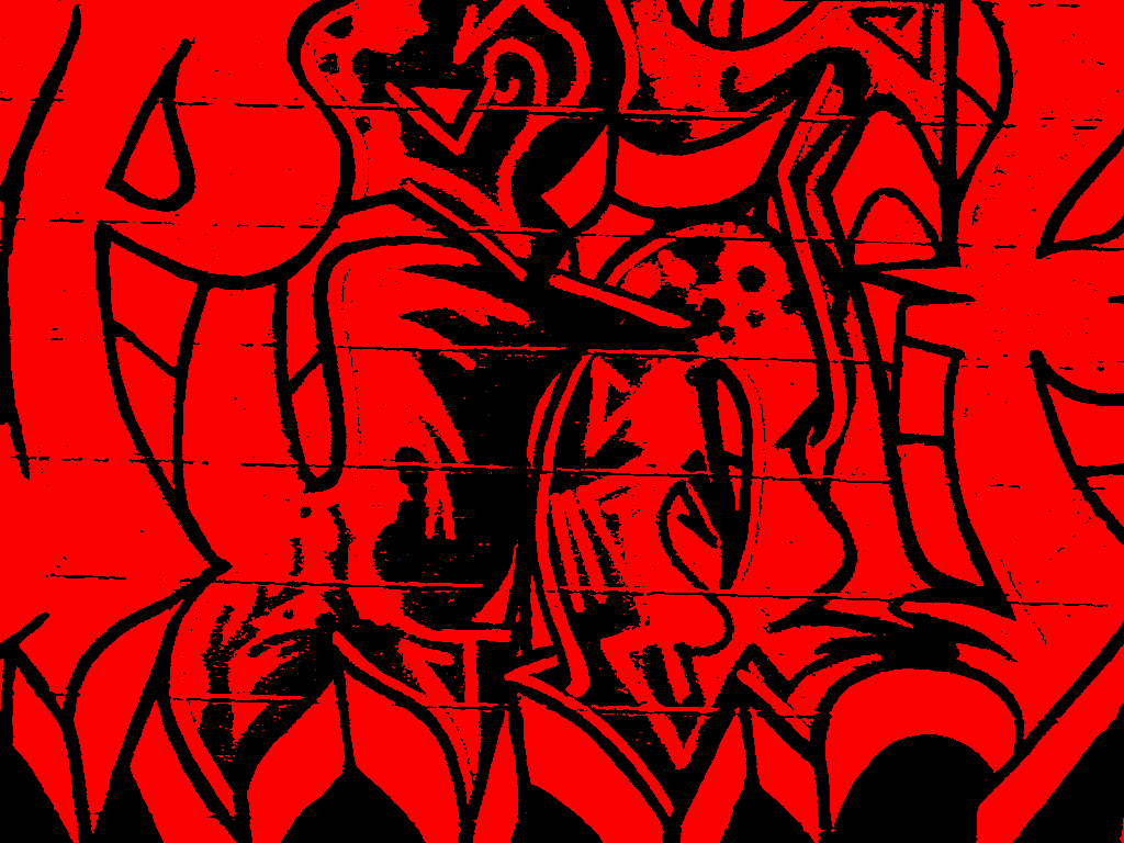 Red Graffiti by HighScore on deviantART