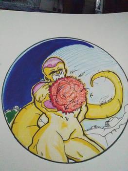 Golden Frieza Fanart