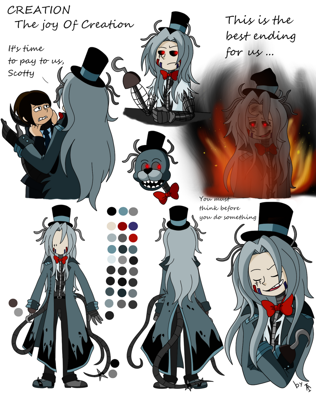 Creation reference by One-hell-bunny on DeviantArt
