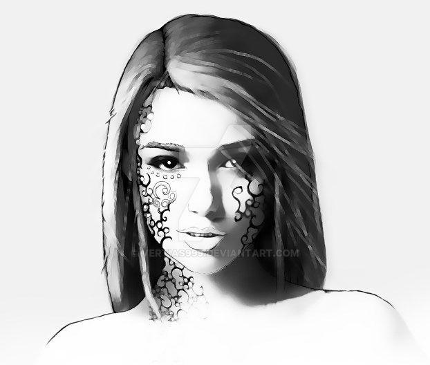 Girl by vertias999