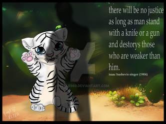 HELP ME : white tiger editon by Belle980