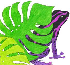 * Poison Dart Frog * by HopeCvon
