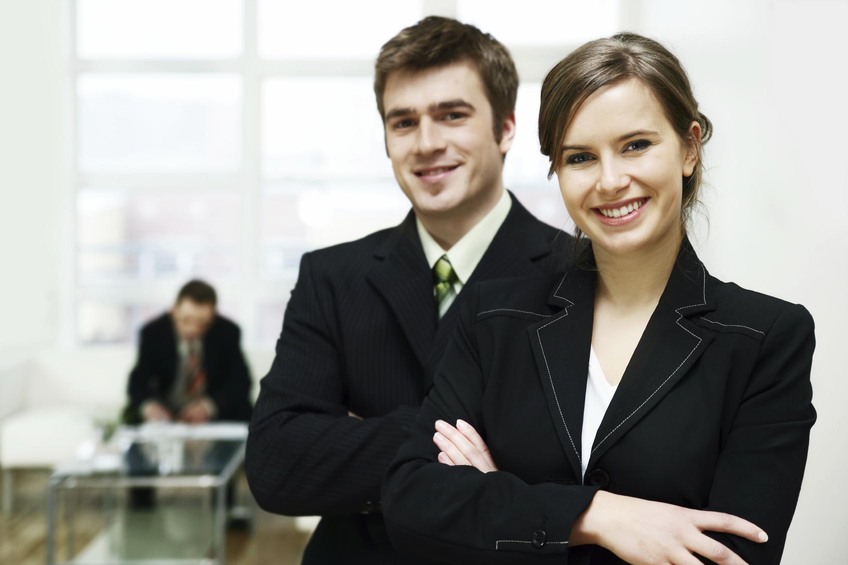 business couple by Stiegssen