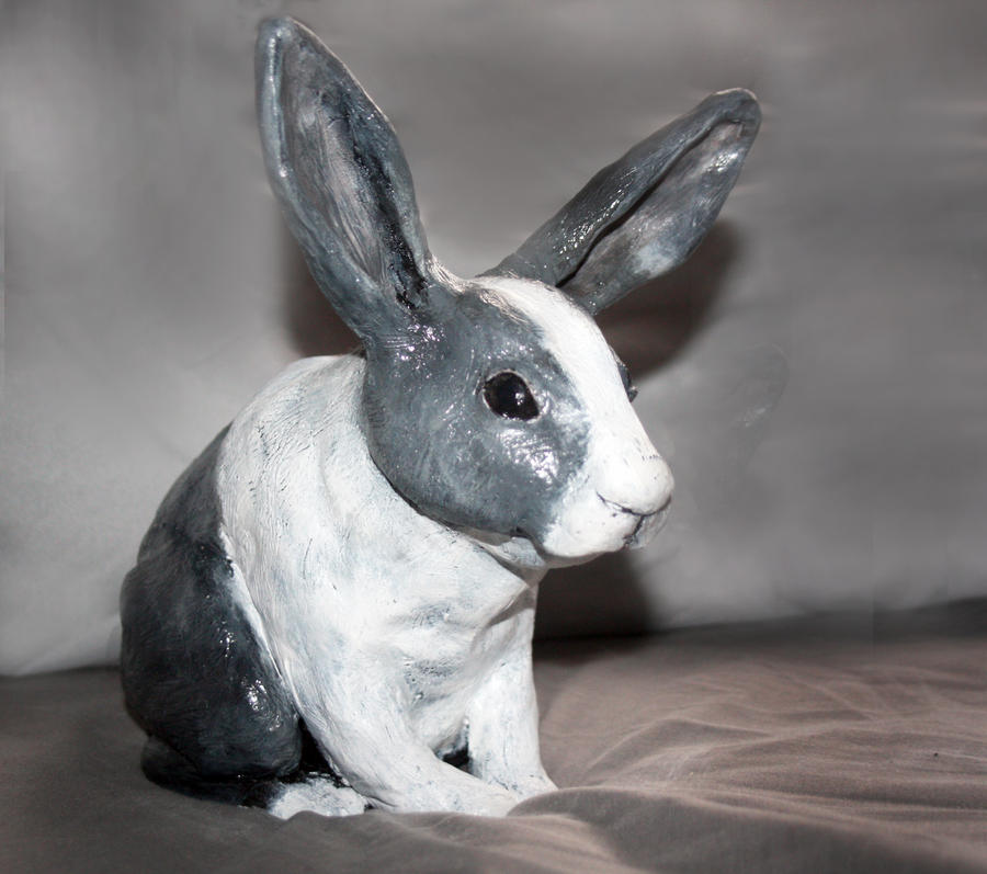 Ceramic Dutch Rabbit by MyOwnConga