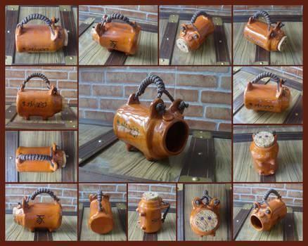 C0003 Japanese Pig Jar