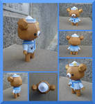 P0058 Sailor Bear Teddy