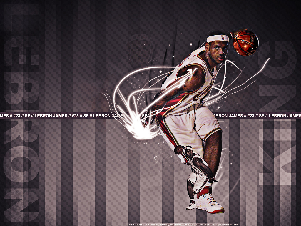 LeBron James Wallpaper by bhazler