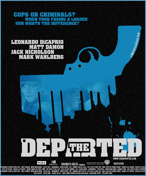 The Departed Movie Poster by bhazler on DeviantArt