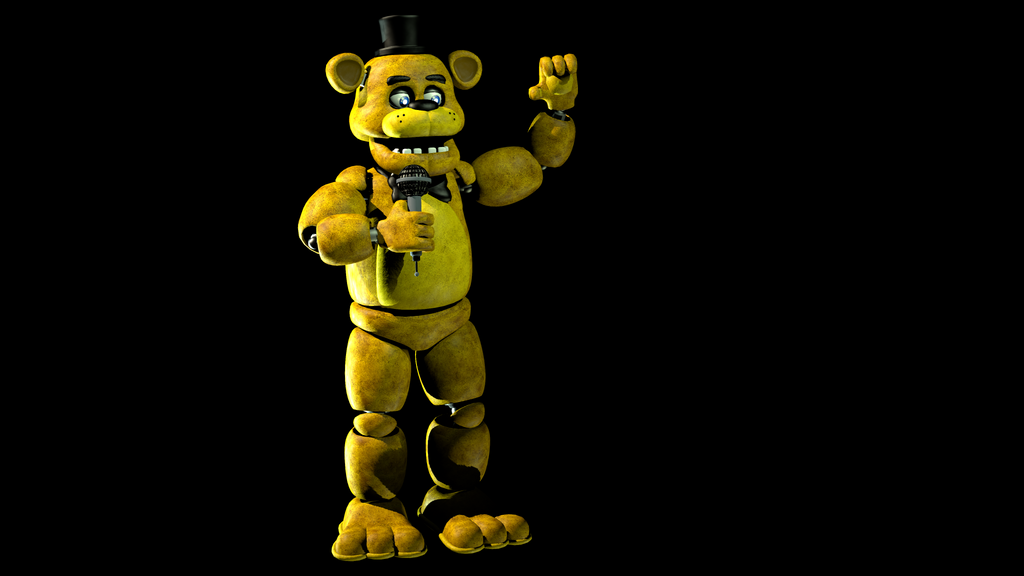 Golden freddy by vickolous on deviantart