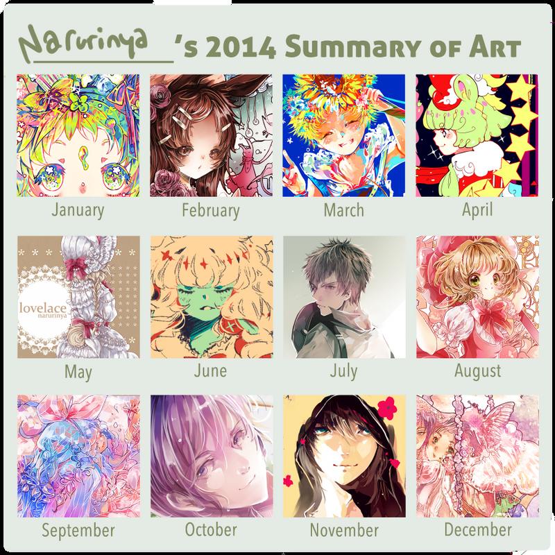 2014 Art Summary by Narurinya