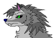 Savannah the Wolf by Sonyie