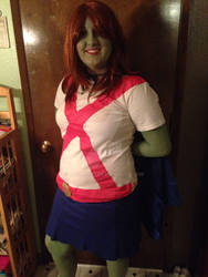 My Miss Martian Cosplay